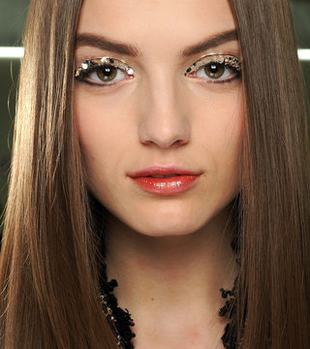 Chanel Glitter Eye Makeup