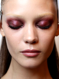 Bold Colored Eyeshadow Trend