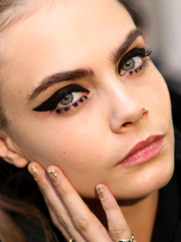 Cat  Eyes Makeup Anna Sui