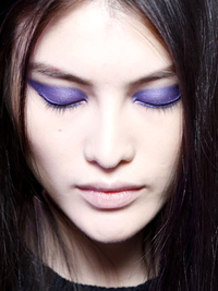 Purple Eyeshadow Trend Jason Wu