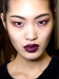 Wine Colored Lip Trend