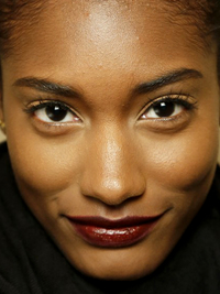 Wine Lips Trend Zac Posen