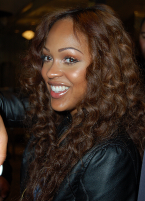Meagan Good Auburn Hair Color