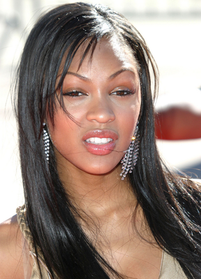 Meagan Good Long Sleek Hairstyle