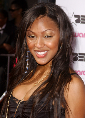 Meagan Good Long Wavy Hair