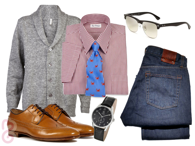 Mens Fashion Sprezzatura Outfit