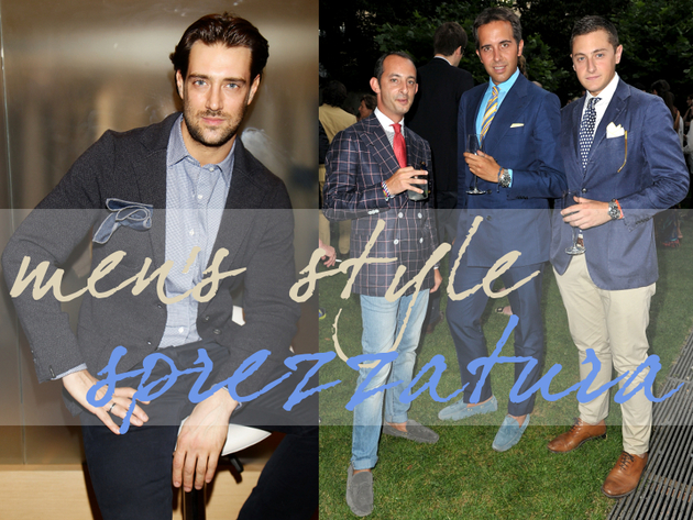 Men's Style: The Art of Sprezzatura