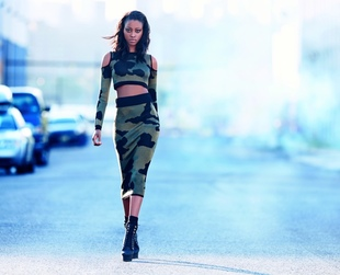 The second Rihanna for River Island line will soon hit the stores. Check out the new line's key looks in the label's new campaign for fall/winter 2013.