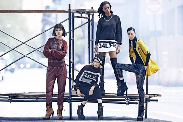 Rihanna For River Island Fall 2013 Campaign Look (4)