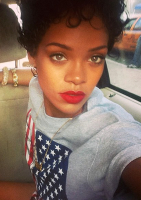 rihannas short haircuts best styles over the years