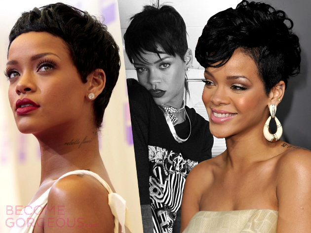 Rihanna's Short Haircuts: Best Styles Over the Years
