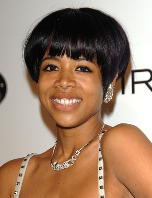Kelis Short  Bob Haircut