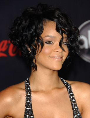 Rihanna Inverted Bob Haircut