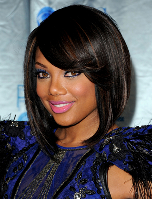 Tiffany Hines Short  Bob Haircut