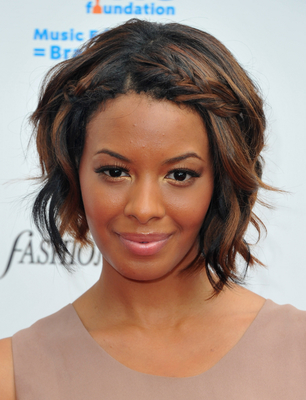 Vanessa Simmons Short  Bob Haircut