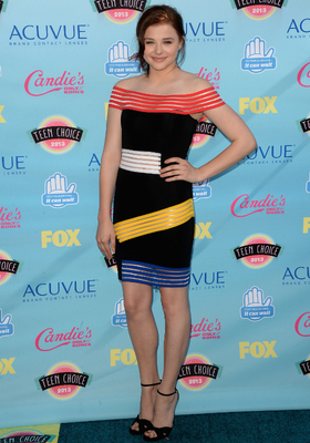 Chloe Moretz Christopher Kane Dress