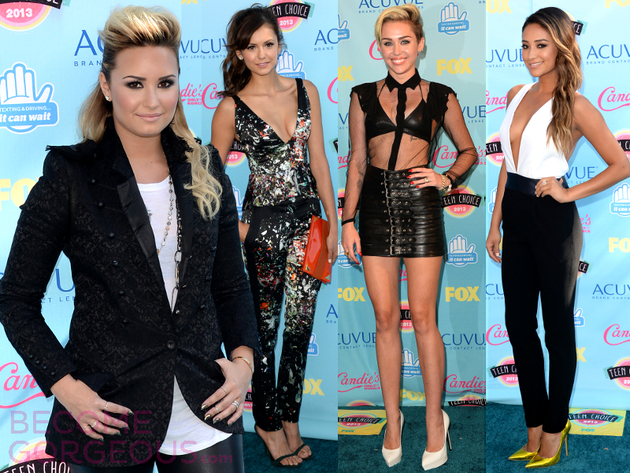 Teen Choice Awards 2013 Celebrity Style