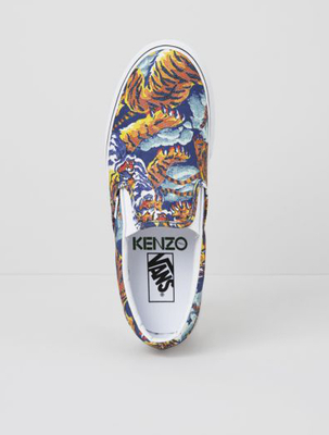 Kenzo  Flying Tiger Vans Sneakers Fall 2013 (2)