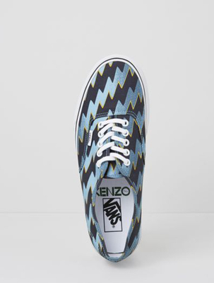 Kenzo Lightning Bolt Vans Sneakers Fall 2013 (2)