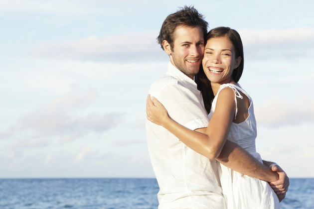 Couple In A Healthy Relationship