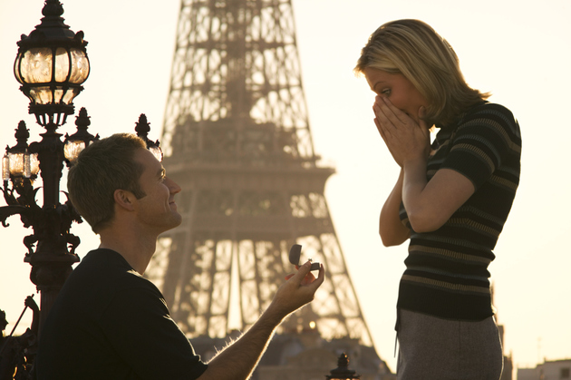 Paris Marriage Proposal