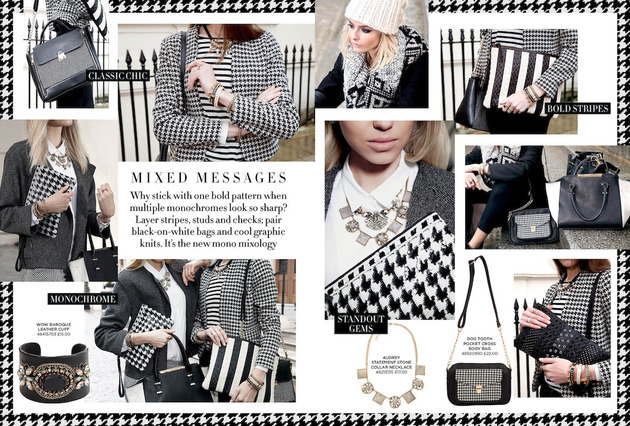 2013 Accessorize Houndstooth Prints Designs