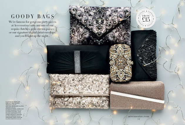 Accessorize Fall Winter 2013 Glam Clutches
