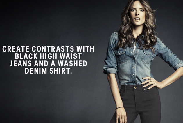 H And M Denim Shirt