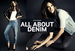 Fall 2013 Denim Trends with H&M Divided and Alessandra Ambrosio