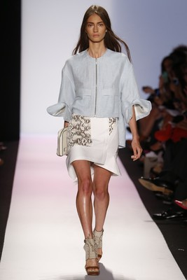 Asymmetric Skirt From Bcbg Max Azria Spring 2014 Collection