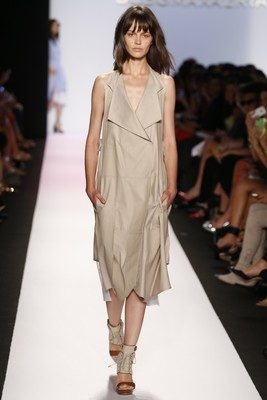 Bcbg Max Azria Spring 2014 Collection Asymmetric Trench Dress