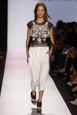 Embroidery Top From Bcbg Max Azria Spring 2014 Collection