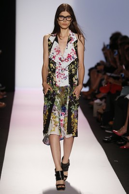 Floral Print Trench Dress From Bcbg Max Azria Spring 2014 Collection
