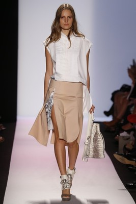 High Slit Skirt Bcbg Max Azria Spring 2014 Collection