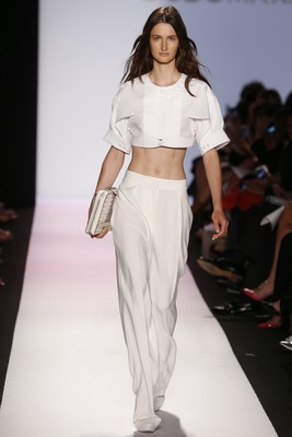 Midriff Exposing Top From Bcbg Max Azria Spring 2014 Collection