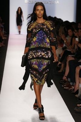 Printed Dress From Bcbg Max Azria Spring 2014 Collection