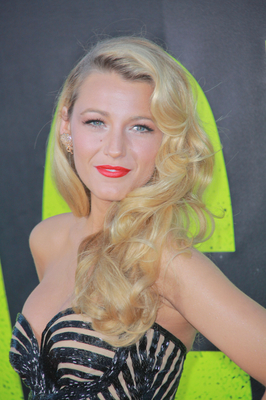 Blake Lively Beige Blonde Hair Color