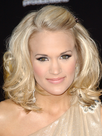 Carrie Underwood Curly Bob