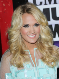 Carrie Underwood Curly Hairstyle