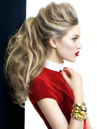 Curly Ponytail Hairstyle
