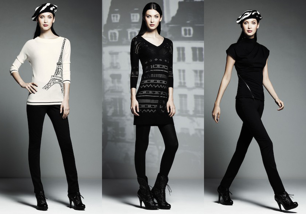 Parisian Chic Outfits From Catherine Malandrino For Kohl's Collection