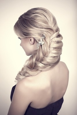 Braided Hairstyle For Bridesmaids