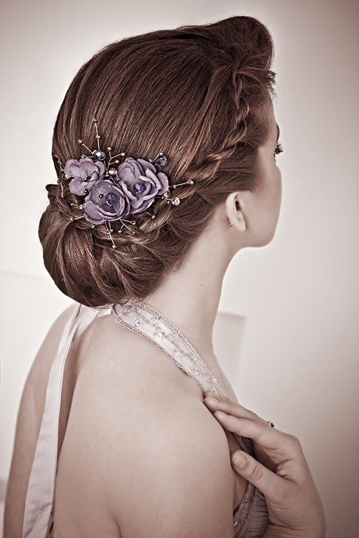 Pictures Chic Updo Hairstyles For Bridesmaids Twist