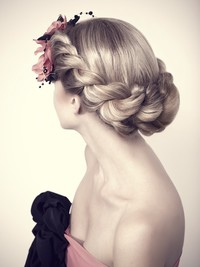 Chic Updo Hairstyles for Bridesmaids