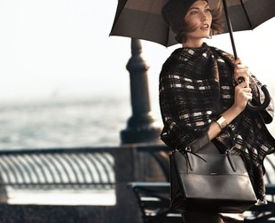 Check out the newest Coach campaign for fall/winter 2013 featuring Karlie Kloss and Liu Wen.