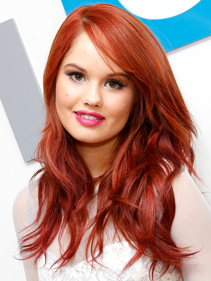 Debby Ryan Layered Long Haircut