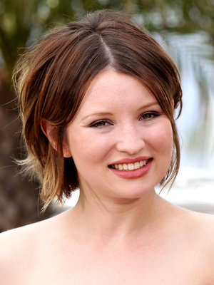 Emily Browning Layered Shag Haircut