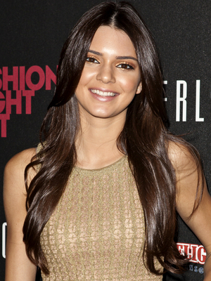 Kendall Jenner Long Layered Haircut