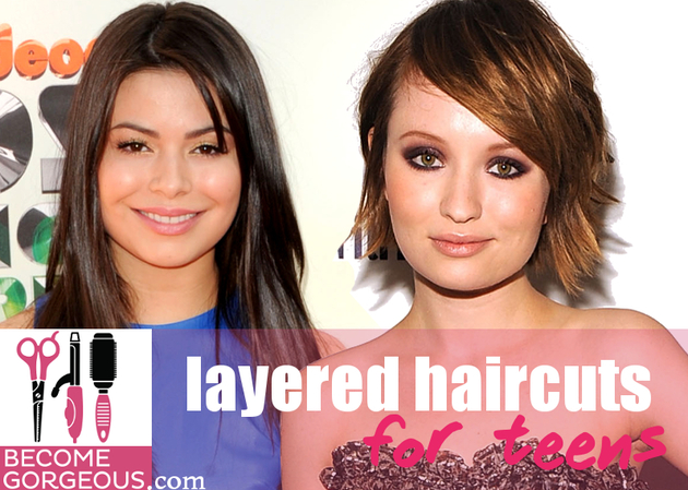 Cute Layered Haircuts for Teens