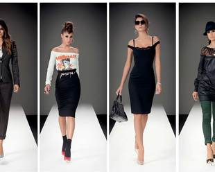 Check out the youthful new ensembles the from the Denny Rose fall/winter 2013 line.